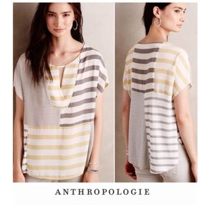 Anthropologie One September Striped Top